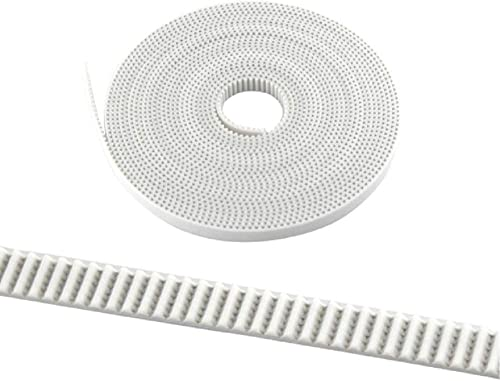 3DINNOVATIONS 3D printer GT2 Timing belt (Material: PU with Steel Core) 6 mm width: (1 piece of 5 Meter length)