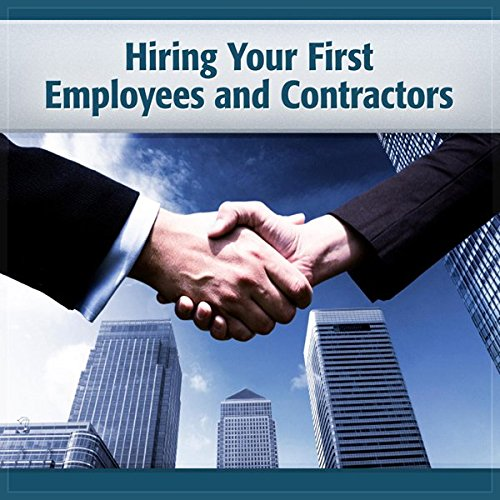 Hiring Your First Employees and Contractors audiobook cover art