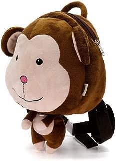 Cute Elephant Dinosaur Baby Anti lost Cartoon Bag Plush Animal Backpack For Kindergarten Kid Schoolbag Toy Children's Gift