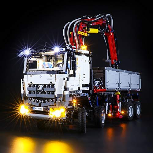 BRIKSMAX Led Beleuchtungsset für Lego Technic Mercedes-Benz Arocs 3245,Kompatibel Mit Lego 42043 Bausteinen Modell - Ohne Lego Set