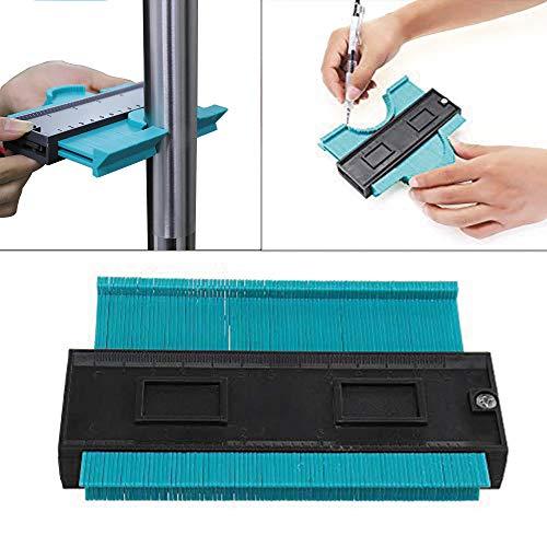 Profil-Messwerkzeug, unregelmäßiges Profilmessgerät, Kopierlehre, Zimmermannsmessung, Duplikator-Werkzeug, 125 mm
