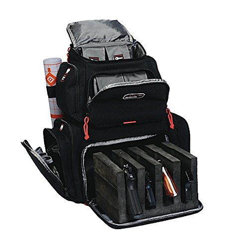 G.P.S. Handgunner Backpack Black GPS-1711BP
