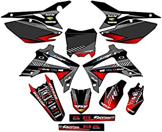 Senge Graphics Kit Compatible with Honda 2013-2016 CRF 450R Surge Black Graphics kit