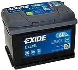 Batería de arranque Exide EB602- de 60 A