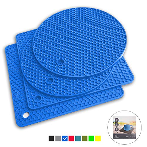 Our #7 Pick is the Q's Inn Silicone Trivet Mats for Holding Hot Pots