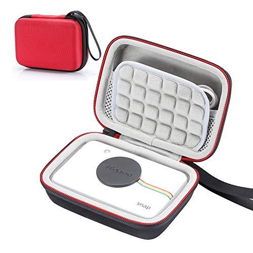Hard case für Polaroid Snap & Polaroid Snap Touch Sofortbild-Digitalkamera, Reisetasche zum Aufbewahren - Rot