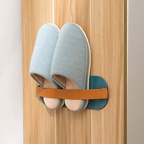 Time Collect - Zapatero para montar en la pared, organizador de zapatos de plástico, para montar en la pared, perchas para zapatos (3 colores), ABS y polipropileno., gris, 27.5*9.5 cm
