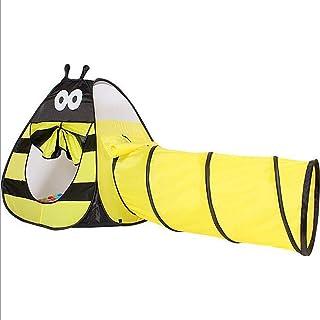 LTJY Stor mun larvtält 1 st pop-up barn lektunnel barn upptäcktsstation