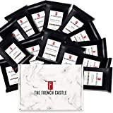 Coffee World Tour Sample Pack, Ground Coffee Beans Sampler Gift Box Set, Pack of 14 Assorted Single-Origin Premium Coffee