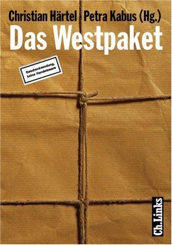 Das Westpaket. Geschenksendung, keine Handelsware