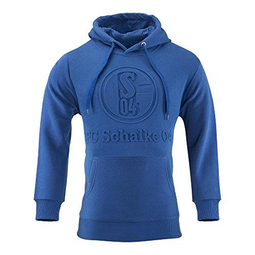 FC Schalke 04 FC Gelsenkirchen-Schalke 04 eV Sweat Shirt Prägung Kapuzenpullover Pullover Größe 3XL