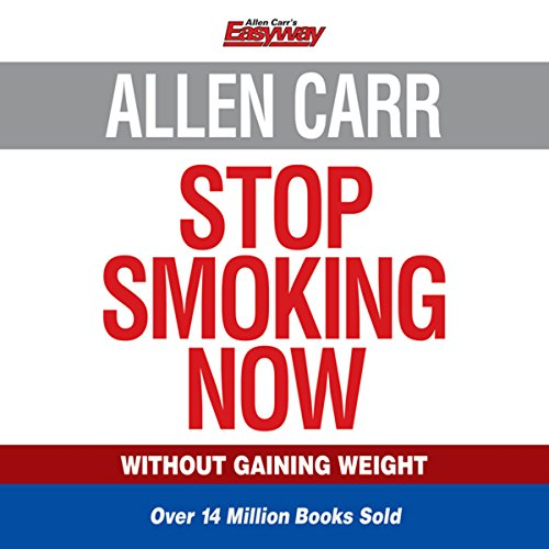 Allen Carr's Stop Smoking Now                   By:                                                                                                                                 Allen Carr                               Narrated by:                                                                                                                                 Richard Mitchley                      Length: 4 hrs and 53 mins     267 ratings     Overall 4.8