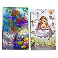 グレゴリースコットタロットのオラクルカード - デスティニー予測カード - タロットカード - 男性女性用の誕生日カード誕生日の清潔な出生インタラクティブボードゲーム