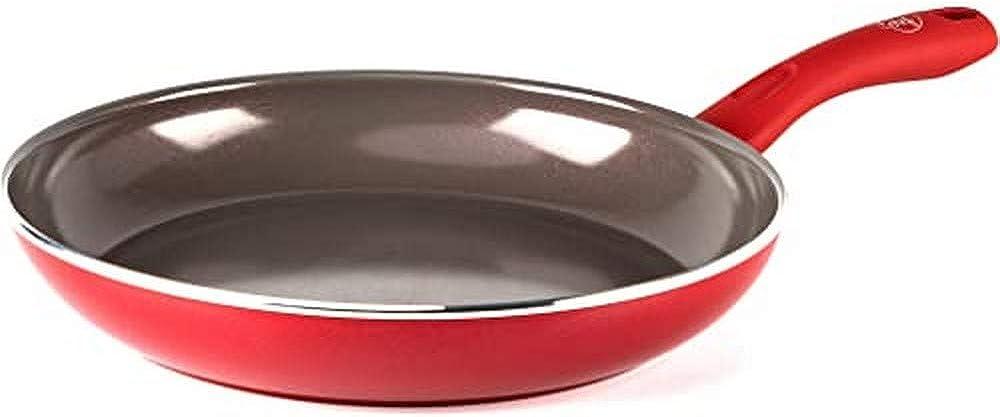 Greenchef, padella antiaderente con rivestimento in ceramica, adatta a tutti i tipi di fornelli, 30 cm CC002772-001