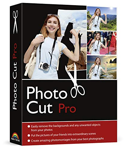 Photo Cut PRO for Windows 10, 8.1, 7 - Edit, remove and change the backgrounds from your pictures easily - get rid of unwanted objects - make collages - apply filters and other effects