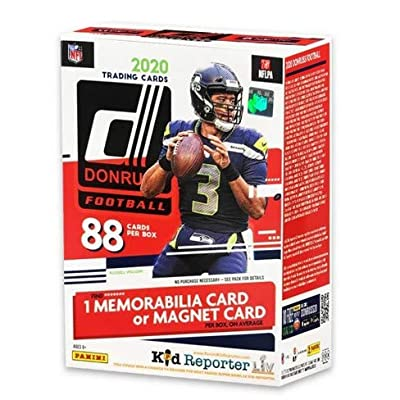 2020 NFL Donruss Football Trading Card Blaster Box (Red Box)