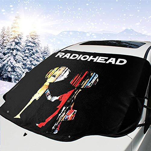 The Best of Radiohead Foldable Durable Windshield Sun Shades – Universal Fit for Car Auto Sedan Truck SUV 147118cm