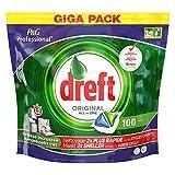 Dreft Original - Todo en uno - 100 piezas - Pastillas para lavavajillas