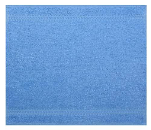 Betz Serviette débarbouillette Lavette Taille 30 x 30 cm 100% Coton Premium Couleur Bleu Clair