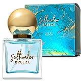 Bath & Body Works Saltwater Breeze Eau de Parfum Fresh Linen, Water Bloosom and White Musk Fresh Ocean Air 1.7 fl oz / 50 mL