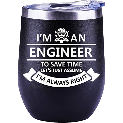 Engineer Gifts For Men | Women | Chirstmas Gifts | Birthday Gifts | Wine Glasses, Mug, Funny Cup