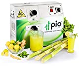 PIO Sugarcane Juice Machine (3 Roller, Single Phase 110 V, Stainless Steel 304)
