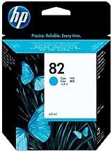 HP 82 69-ml Cyan DesignJet Ink Cartridge C4911A