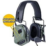 ATAIRSOFT Adaptador para Auriculares con Casco táctico para el Auricular COMTAC Riel Lateral del Casco rápido OD Green