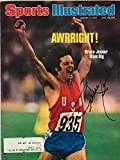 Bruce Jenner Autographed Sports Illustrated Magazine August 9, 1976 - Autographed Olympic Photos