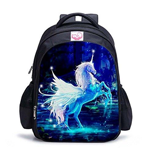 Fantany Unicorn School Backpacks, Stylish Unicorn...