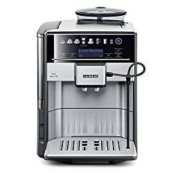 Siemens EQ.6 series 700 TE607503DE coffee machine (19 bar, direct selection by sensor fields, oneTouch DoubleCup, Cappuccinatore) stainless steel