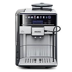 Siemens EQ.6 series 700 TE607503DE Kaffeevollautomat (19 bar, Direktanwahl durch Sensorfelder, oneTouch DoubleCup, Cappuccinatore) edelstahl