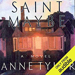Saint Maybe audiobook cover art