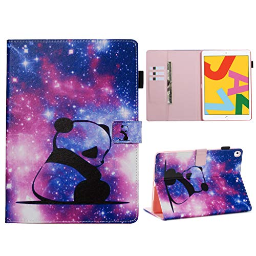 Vogu'SaNa Compatible for Tablet Case iPad 10.2 2019 PU Leather Case Protective Cover Painting Pattern Flip Cover Case Stand Card Slots Magnetic Cover Shell Sleeves