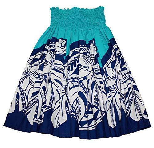 夏威夷Pa'u Polynesian呼啦椅(蓝色塔帕)