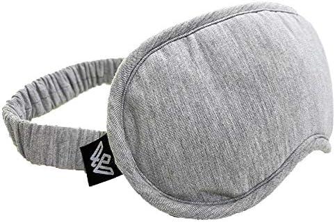 Weighted Evolution Organic Bamboo Sleep Mask Light Blocking Comfortable and Soft Night Eye Mask product image