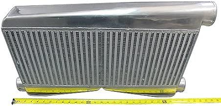 Universal Twin Turbo BigCore Intercooler 27x16.5x3.5