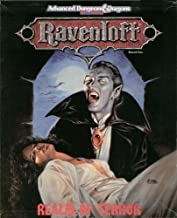 Ravenloft: Realm of Terror (AD&D 2nd Ed (144 Page Book / 4 Maps / Overlay / 24 Cardsheets #1053)