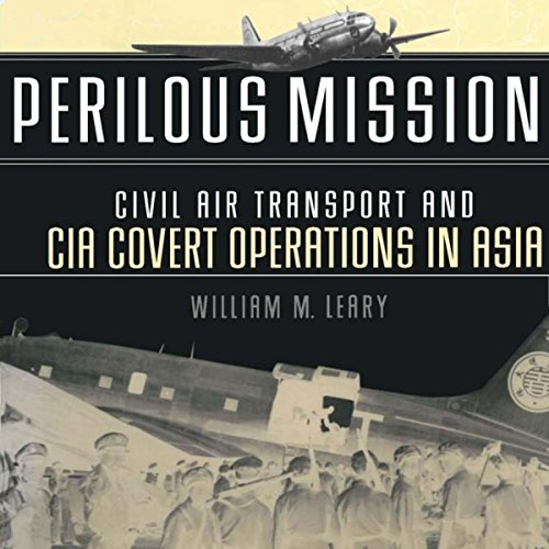Perilous Missions audiobook cover art