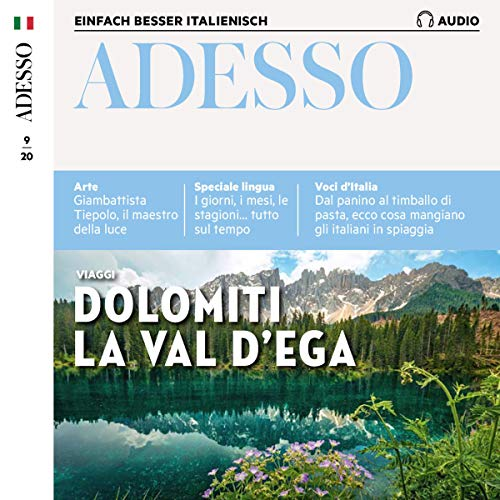 Adesso Audio - Dolomiti, la val d'Ega. 9/2020 Titelbild
