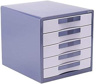 LIUYULONG Armoire de rangement de fichiers plate, anti-collision, verrouillable, en alliage d'aluminium, tiroir supérieur ...