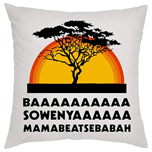 NoMoreFamous Baaaaa Sowenyaaa Mamabeatsebabah Hakuna Matata Almohada Pillow