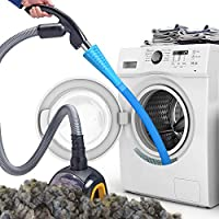 Essential for Dryer Vent-Our long attachment hose attaches to your vacuum and lets you clean the deep recesses of your appliances. Perfect for your washing machine, dryer, freeze dryer machine, and more can run more efficiently. Flexible and handy ho...