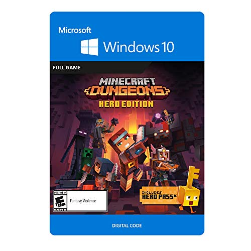 Minecraft Dungeons Hero Edition - PC [Online Game Code]