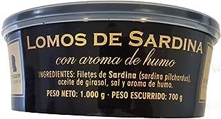 Lomos de sardinas ahumadas El pescador de Villagarcía tarro