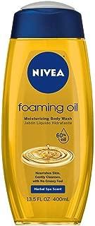Nivea Body Wash Foaming Oil 13.5 Ounce (400ml)