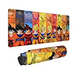 Anime Gaming Mouse Pad Durable Stitched Edge Extended Large Precise Mouse Pad Keyboard Pad - 31.5