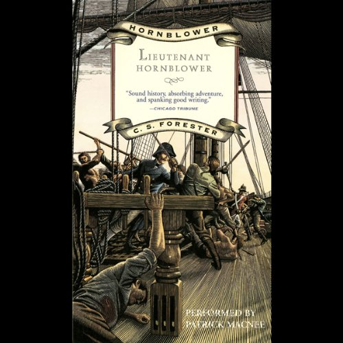 Lieutenant Hornblower audiobook cover art