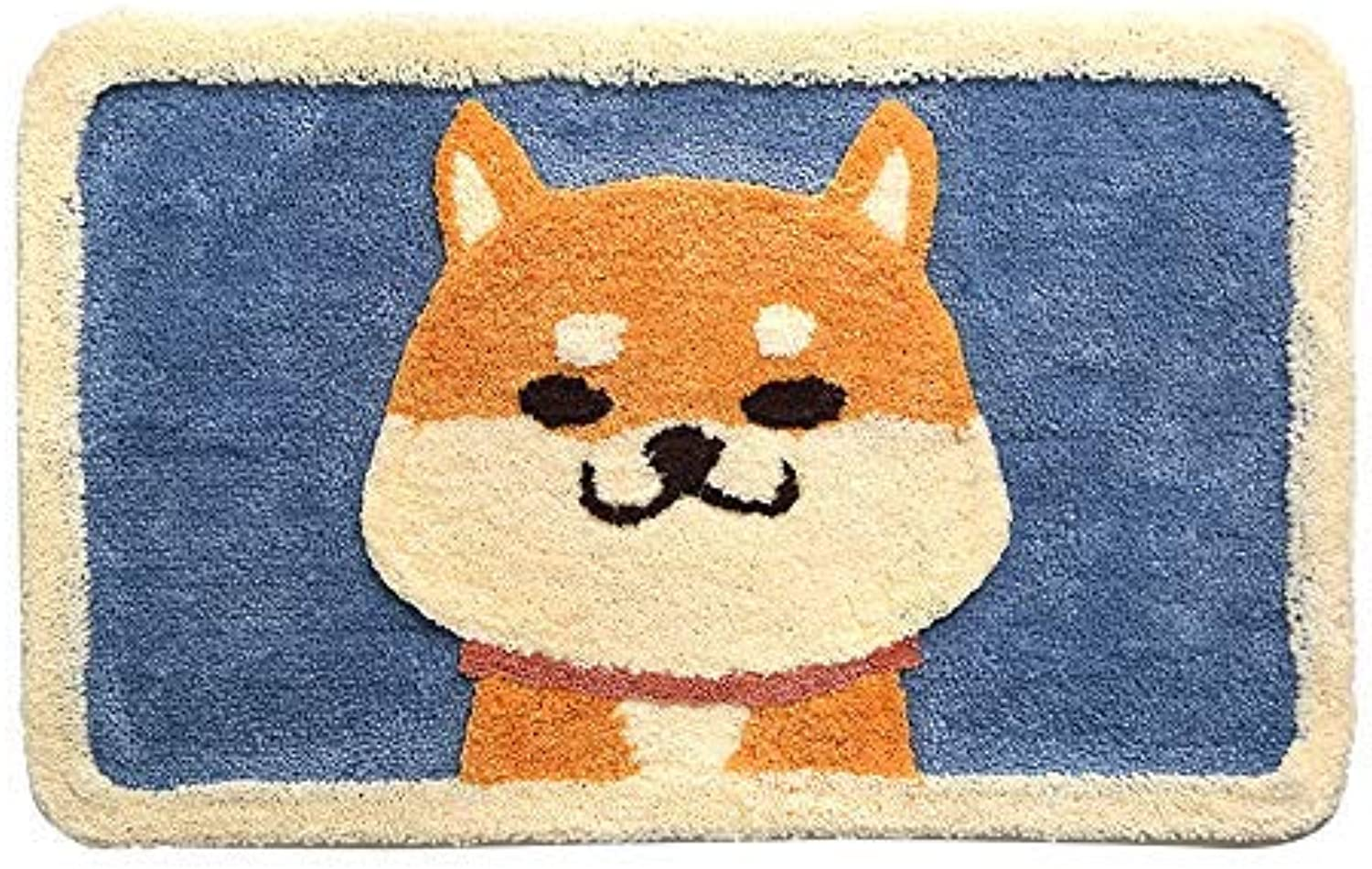 ZHAS Area Rugs Bathroom Anti-Slip Mat Door Mat Foot Mat Home Facility Massage-45x65cm, 50x80cm (Size   50X80cm)