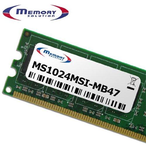 Server-Speicher 1GB Module–1GB PC Speichermodule (ms1024msi-mb47/Lösung, 1x 1GB, MSI K9A Platinum)